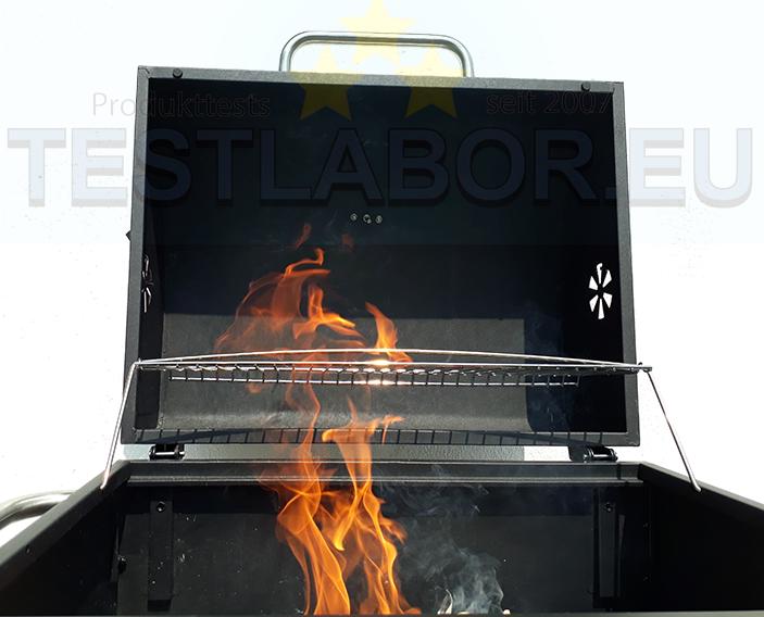 Activa Holzkohlegrill Test : Testlabor.eu activa grillwagen angular
