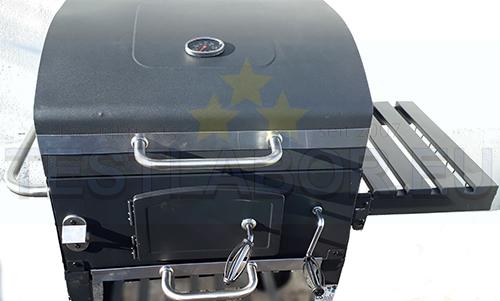 Test Tepro Holzkohlegrill Toronto Click : Testlabor eu activa grillwagen angular
