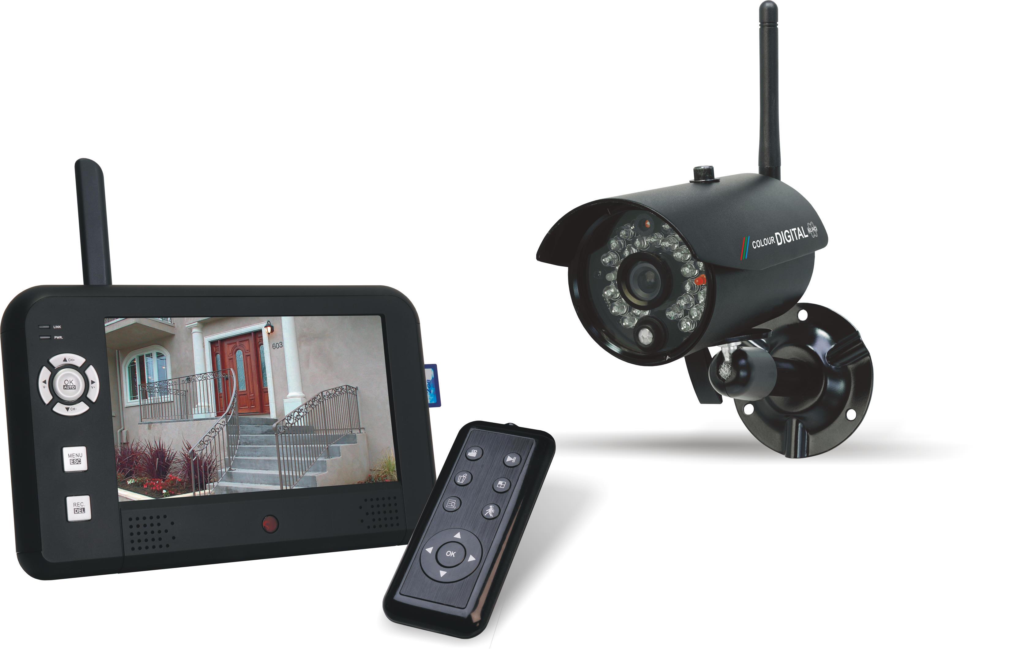 berwachungskamera test kamerasystem elro cs95dvr. Black Bedroom Furniture Sets. Home Design Ideas
