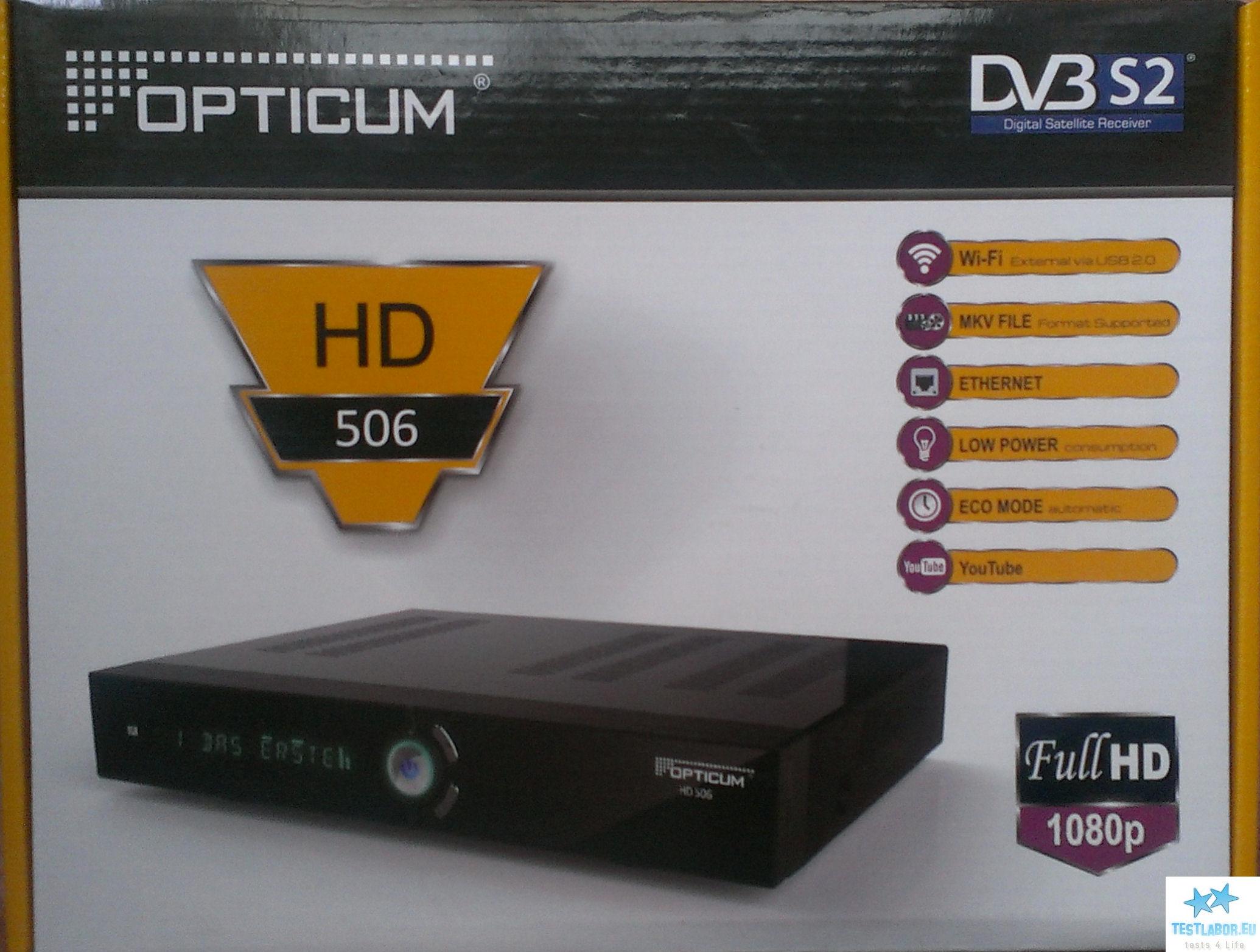 opticum hd 506 pvr. Black Bedroom Furniture Sets. Home Design Ideas