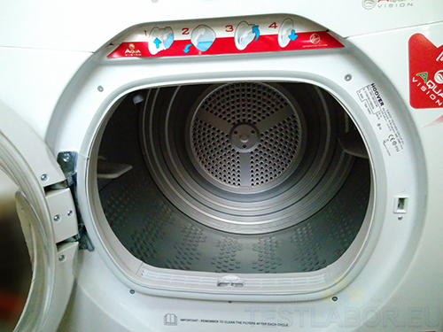 Testlabor eu hoover kondenstrockner aquavision