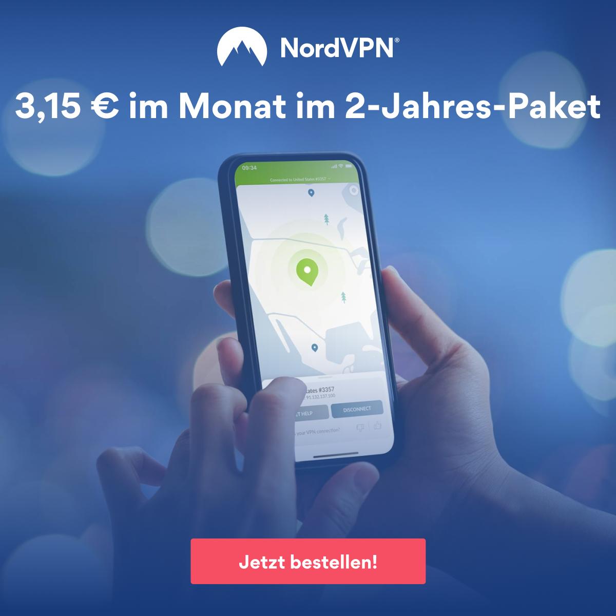 Jetzt NordVPN bestellen!
